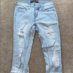 Express destroyed girlfriend jeans (excl fr 5/$20)